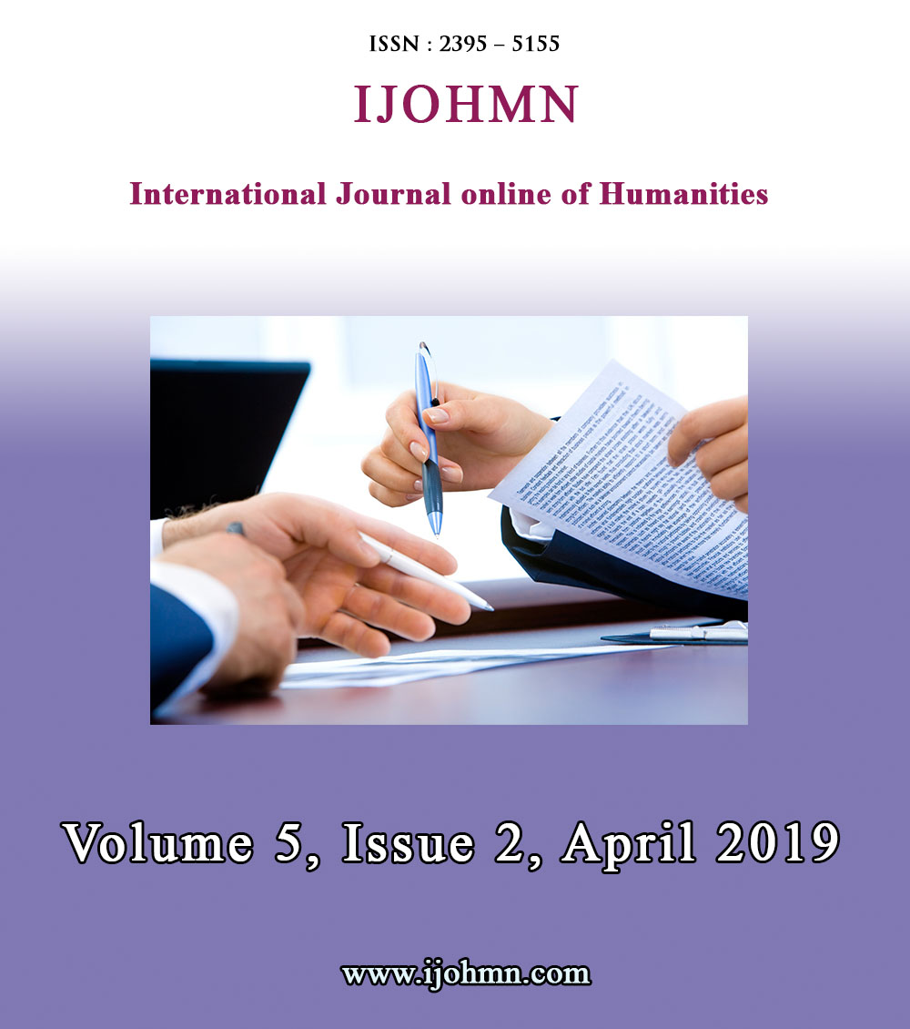 View Vol. 5 No. 2 (2019): Volume 5, Issue 2, April 2019