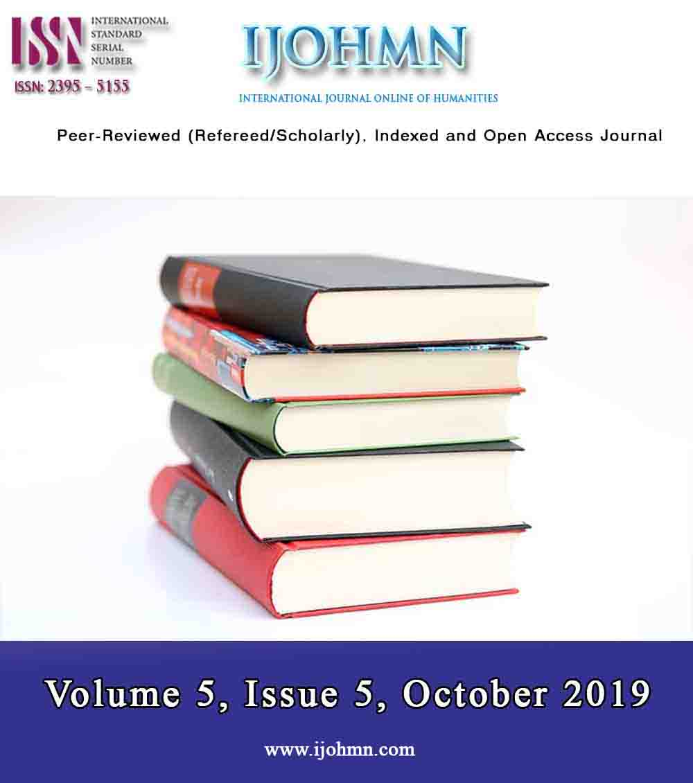 View Volume 5, Issue 5, October 2019
