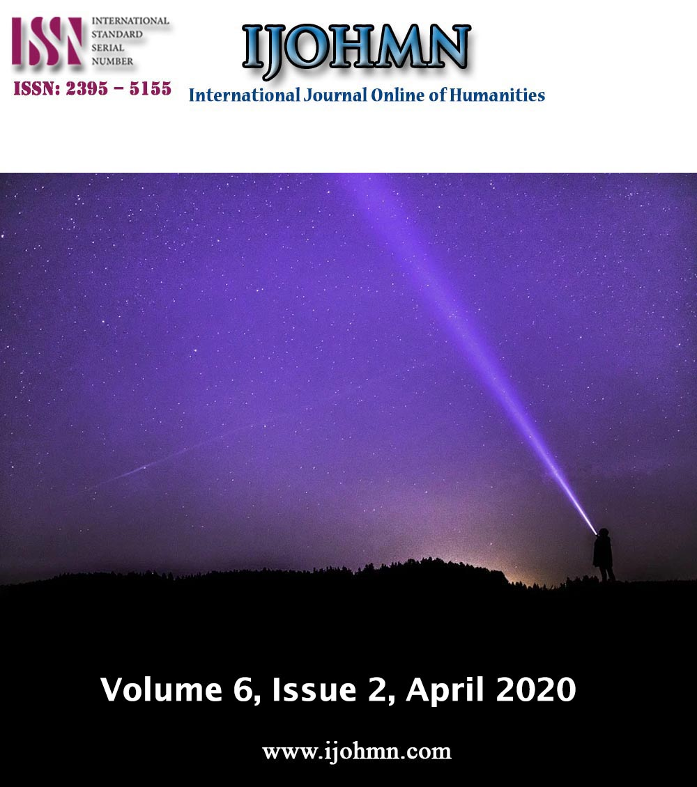 View Vol. 6 No. 2 (2020): Volume 6, Issue 2, April 2020